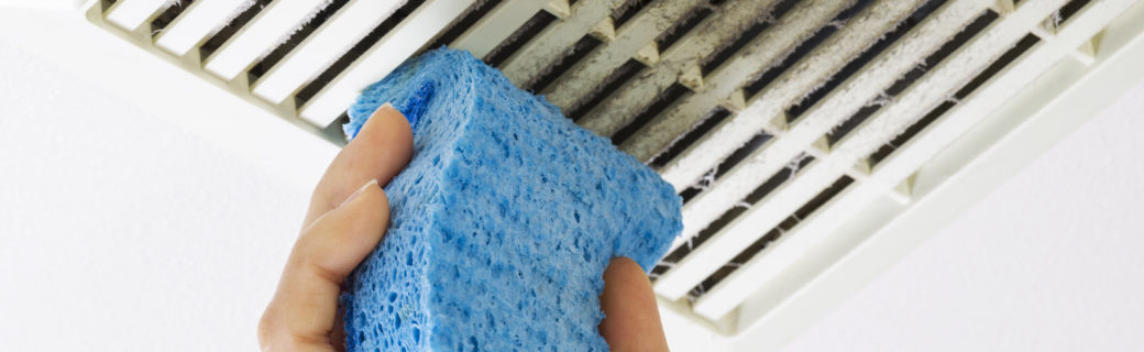 How To Clean The Bathroom Exhaust Fan In A Hurry