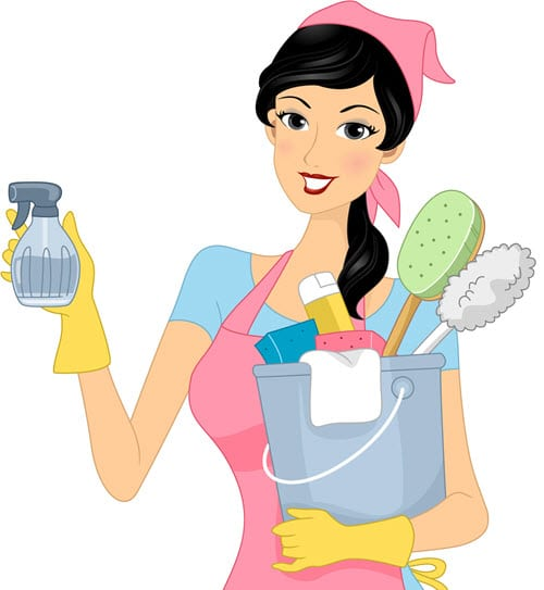 about maid to clean
